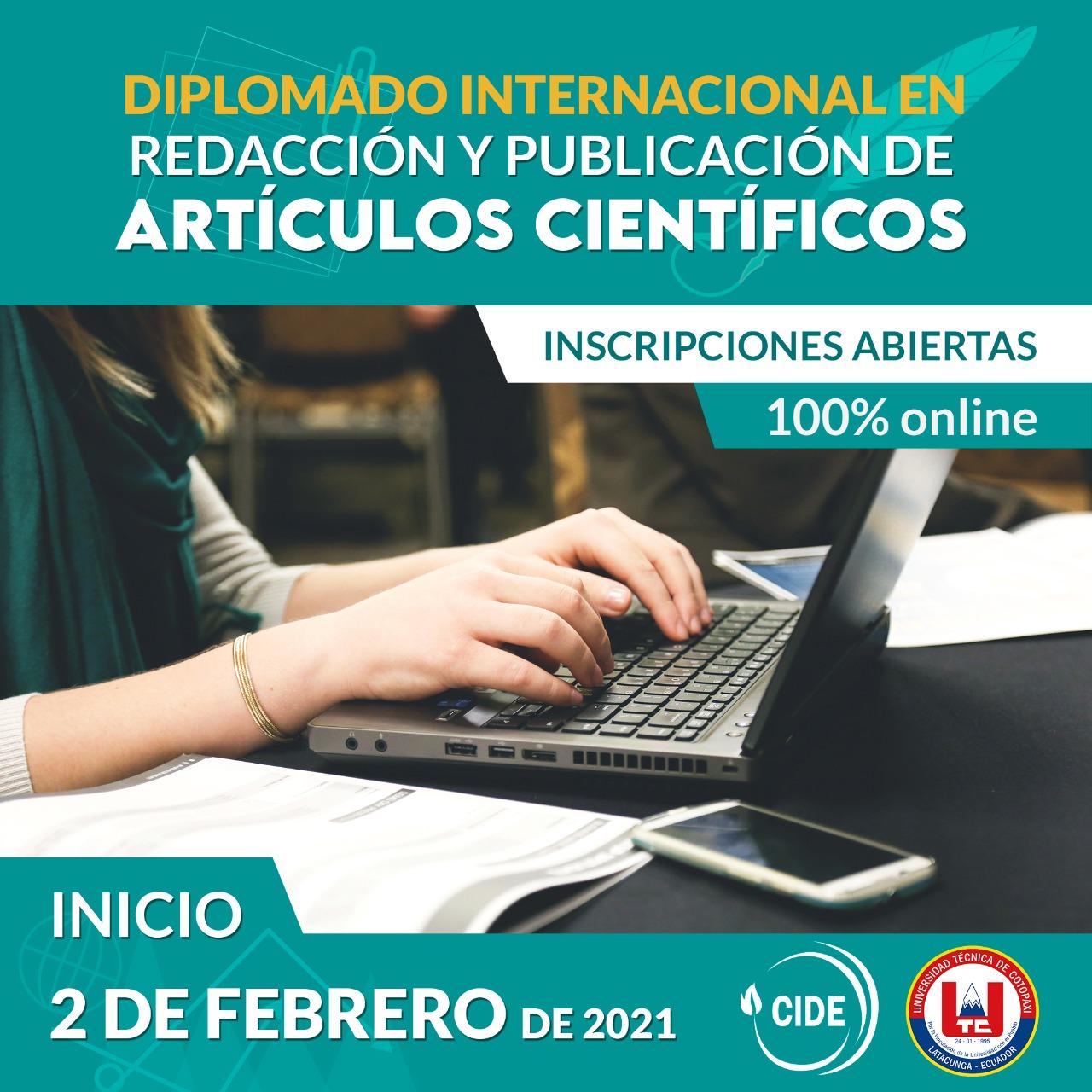 Diplomado Internacional en Redacción y Publicación de Artículos Científicos