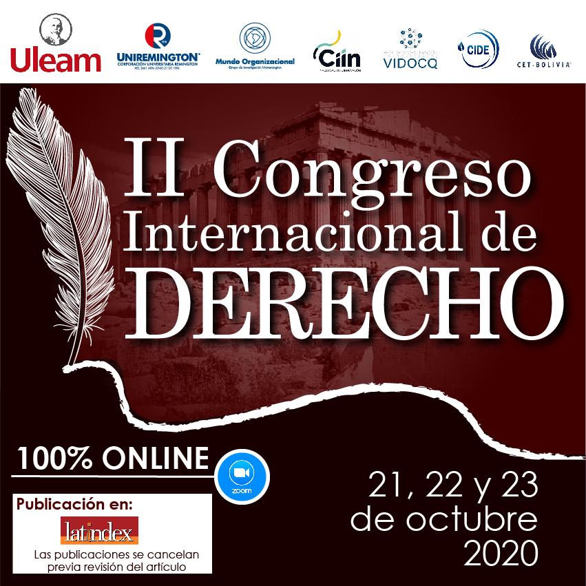 II Congreso Internacional de Derecho